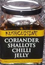 Coriander Shallots Chilli Jelly