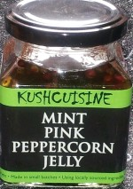 Mint Pink Peppercorn Jelly