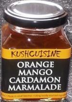Orange Mango Cardamom Marmalade