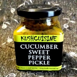 Cucumber Sweet Pepper Pickle