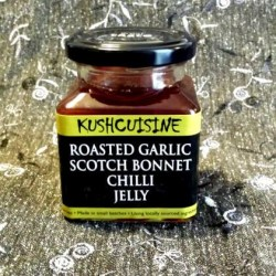 Roasted Garlic Scotch Bonnet Chilli Jelly